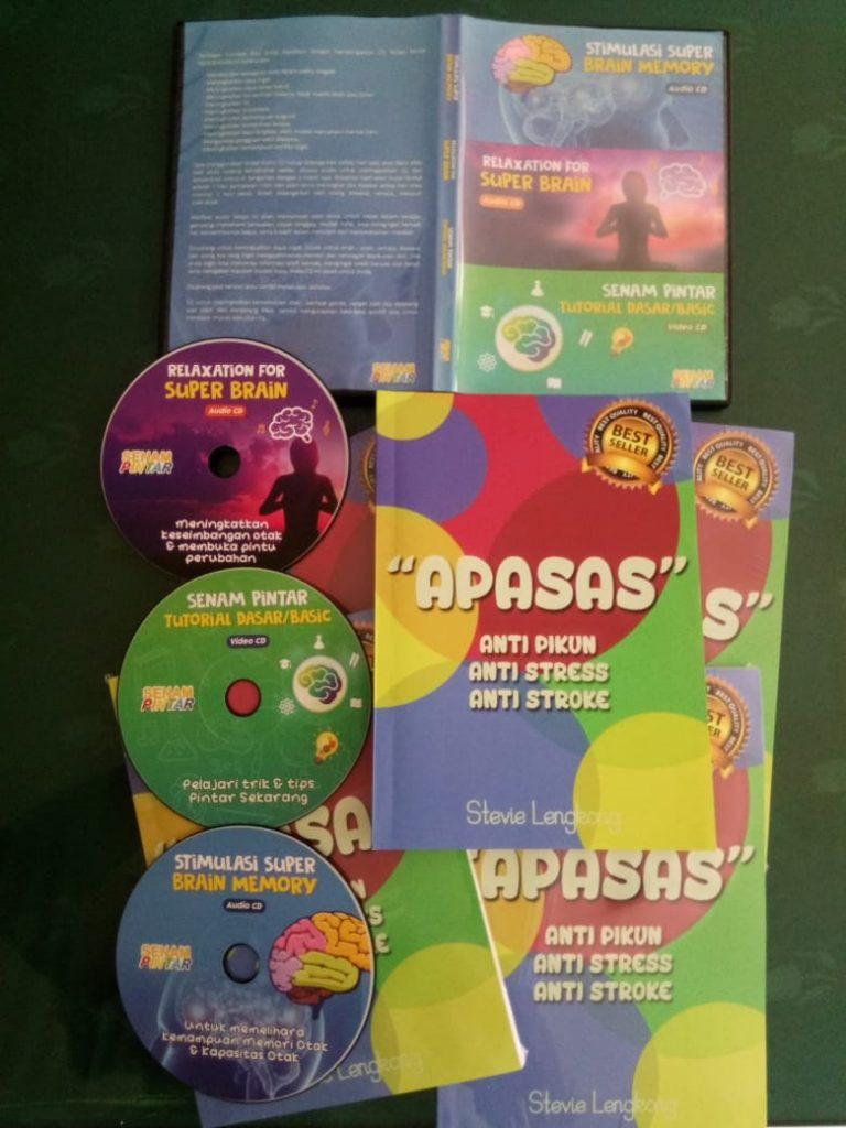 buku apasas dan cd paket kecerdasan 2