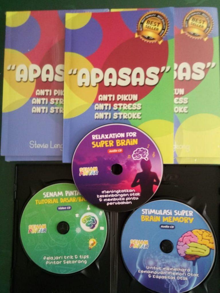 buku apasas dan cd paket kecerdasan 3