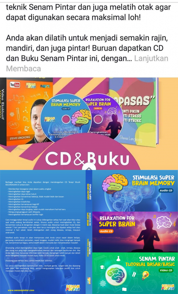 CD LABEL BARU SENAM PINTAR BUKU 2019 2020