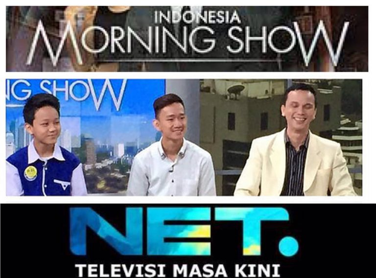 samuel kenneth stevie net tv hari anak 2 morning show