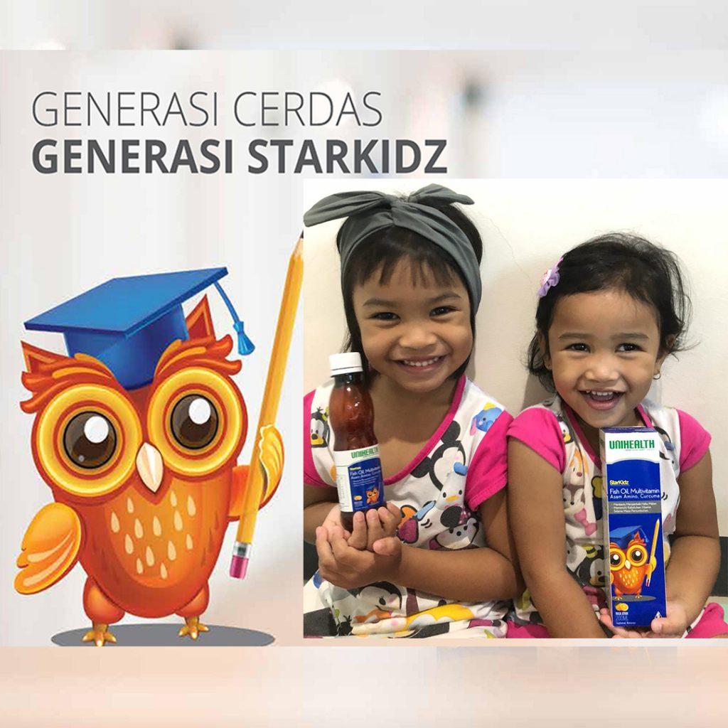 starkidz Magozai Tiwi 082190507220 unihealth idol soho farmasi burung hantu cerdas pandai pintar di Palembang dan Makassar-